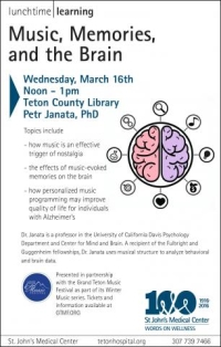 Lunchtime Learning: Music, Memories, and the Brain | St  John's